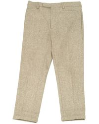 Dior | Pre-owned Wool Carot Pants | Lyst