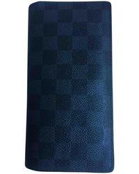 Louis Vuitton - Piccola pelletteria antracite - Lyst