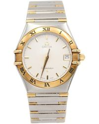 Omega - Constellation Other Gold And Steel Watches - Lyst