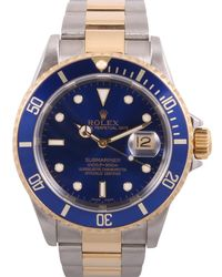 Submariner Blue Gold And Steel Watches
