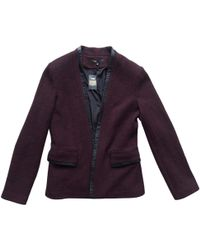 Maje - Pre-owned Wool Jacket - Lyst