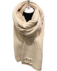 Chanel - Wool Scarf - Lyst