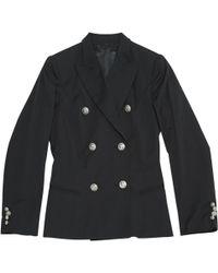 Philipp Plein - Black Viscose Jacket - Lyst