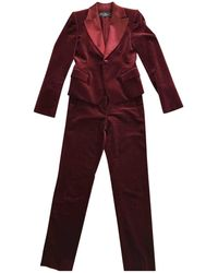 Ferragamo - Pre-owned Velvet Suit Jacket - Lyst