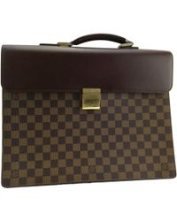 Louis Vuitton - Pre-owned Kourad Cloth Satchel - Lyst