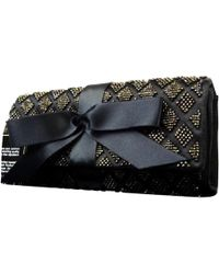 Chanel - Pre-owned Black Synthetic Clutch Bags - Lyst