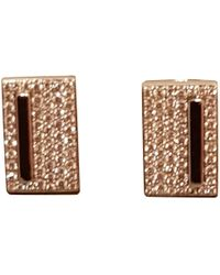 Messika - White White Gold Earrings - Lyst
