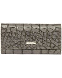 Max Mara - Leather Wallet - Lyst