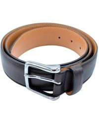 Tod's - Brown Leather Belts - Lyst