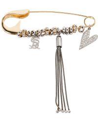 Sonia Rykiel - Gold Metal Pins & Brooches - Lyst