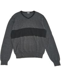 JOSEPH - Pre-owned Anthracite Wool Knitwear & Sweatshirts - Lyst