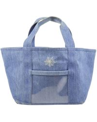 Charlotte Olympia - Blue Denim - Jeans Handbag - Lyst
