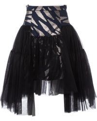 27d4d37ae2 Infinity Wrap-effect Asymmetric Tartan Organic Linen Mini Skirt. $483.  Flannels · Vivienne Westwood - Pre-owned Multicolour Polyester Skirts - Lyst