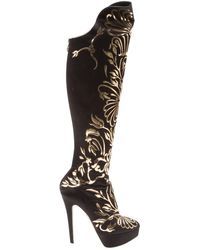 Charlotte Olympia - Cloth Boots - Lyst