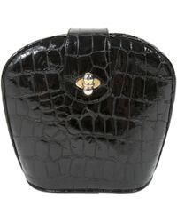 Stuart Weitzman - Pre-owned Black Patent Leather Handbags - Lyst