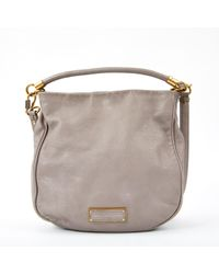 Marc By Marc Jacobs - Grey Leather Handbag - Lyst