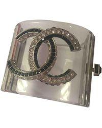 Chanel - Pre-owned Plastic Bracelet - Lyst