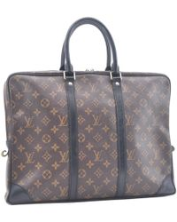 6b19c5a0a40a Lyst - Louis Vuitton Cloth Small Bag in Brown for Men