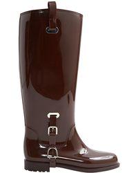 Ralph Lauren Collection - Brown Rubber Boots - Lyst