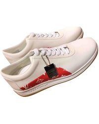 Louis Vuitton - Pre-owned Leather Low Trainers - Lyst