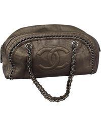 Chanel - Mademoiselle Leather Handbag - Lyst