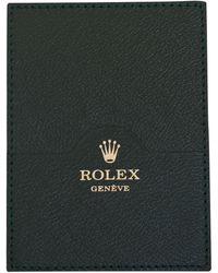 Rolex - Leather Card Wallet - Lyst