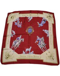 Hermès - Carré 90 Silk Silk Handkerchief - Lyst