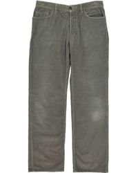 Marc Jacobs - Grey Cotton Trousers - Lyst