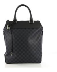 Louis Vuitton - Blue Cloth Bag - Lyst