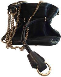 eff6005bec Lancel Elsa Sellier Leather Handbag in Black - Lyst
