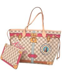 Louis Vuitton - Pre-owned Neverfull Multicolour Leather Handbags - Lyst