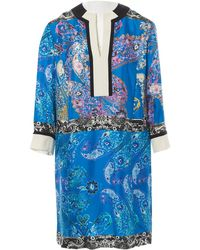 Etro Blue Silk