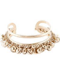 Chanel - Gold Bracelet - Lyst