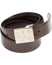 Cartier - Brown Leather Belts - Lyst