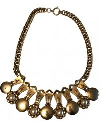 Moschino - Pre-owned Necklace - Lyst