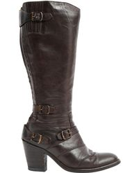 Belstaff - Leather Riding Boots - Lyst