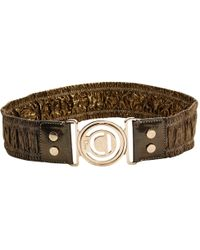 Dior - Pre-owned Cloth Belt - Lyst