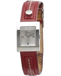 Dior - Pre-owned Malice Silver Watch - Lyst