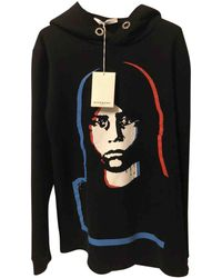 Givenchy - Pre-owned Black Cotton Knitwear & Sweatshirt - Lyst