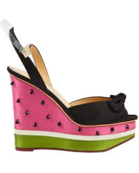 Charlotte Olympia - Pre-owned Cloth Heels - Lyst