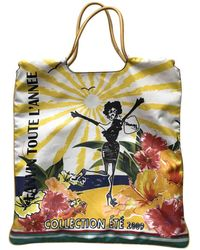 Lanvin - Pre-owned Cloth Tote - Lyst