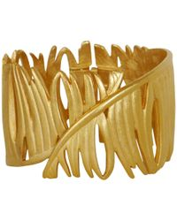 Givenchy - Pre-owned Gold Metal Bracelet - Lyst