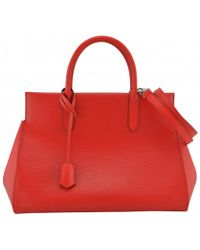 Louis Vuitton - Marly Leather Handbag - Lyst