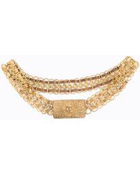 Chanel - Vintage Gold Metal Belts - Lyst