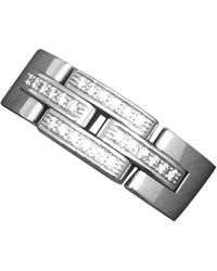 Cartier - Maillon Panthère White Gold Ring - Lyst