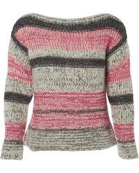 Étoile Isabel Marant - Grey Cotton Knitwear - Lyst