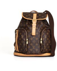Louis Vuitton - Pre-owned Bosphore Cloth Backpack - Lyst