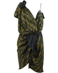 Étoile Isabel Marant - Yellow Polyester Dress - Lyst