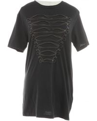 a53789ce Balmain Logo T-Shirt in Black - Lyst