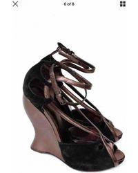 Bottega Veneta - Pre-owned Sandals - Lyst